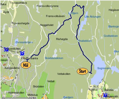 kart over sognsvann Nyheter kart over sognsvann